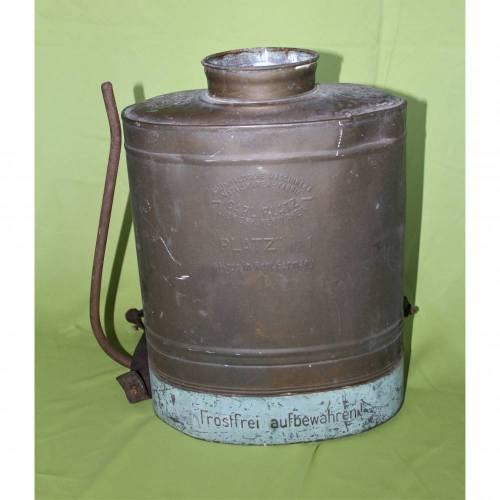 Vintage Spritzgerät aus Kupfer Carl Platz No.1