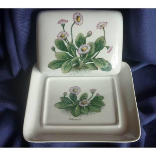 Butterdose Gänseblümchen,Frühling,Blumen,Kaffeetafel,Frühstück,