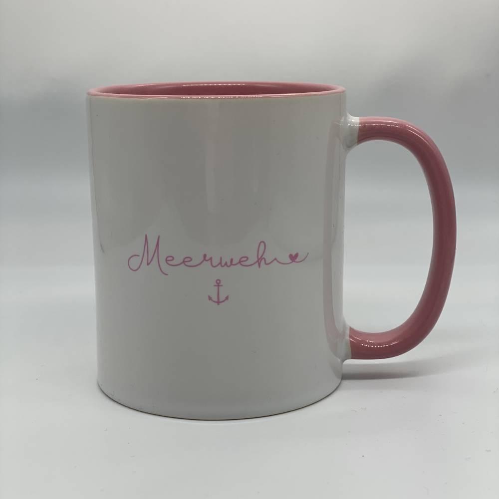 """Tasse """"Meerweh"""" verschiedene Farben, inkl. Geschenkverpackung Bild 1"""
