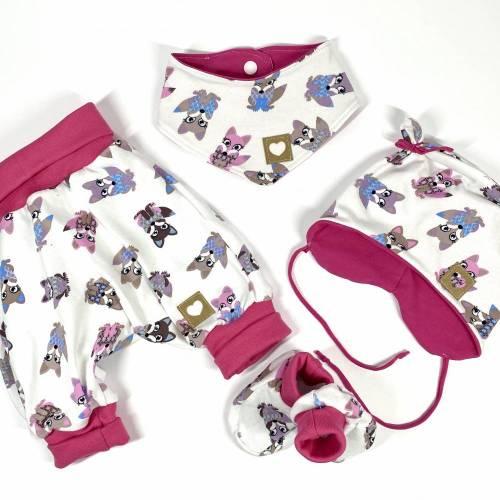Baby Set in Gr. 56-62, Geschenk zur Geburt, Baby Girl