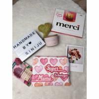 Kosmetiktasche für die beste Mama der Welt, Supermami, Geschenkidee Bild 1