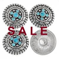 SALE! Druckknopf,  Button, Druckknopfbutton,Gr. L, Metall mit Strass, statt 4,99 Euro jetzt 1,99 Euro Bild 1