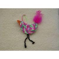 Osterdeko ,Vogel gehäkelt aus Wolle - Frühlingsdeko zum Aufhängen, Bild 1