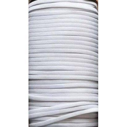 Gummiband, 5mm breit, flach, weiß Bild 1