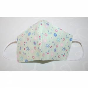 Kinder Masken ab 6 Jahren Mund,- und Nasenmaske Behelfsmasken 100% Baumwolle