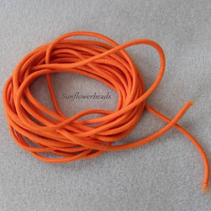 5m Gummiband 10mm breit 1,00/€//m 4302 orange