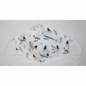 Mund,- und Nasenmaske Behelfsmasken 100% Baumwolle