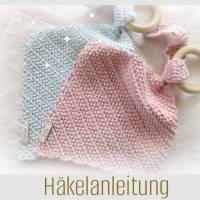 ANLEITUNG | FIRSTLOVE _ TUCH mit Greifring _ Herringbone Half Double Crochet | PDF Bild 1