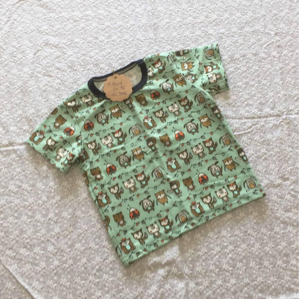 T-Shirt Gr. 92 pistazie Bild 1