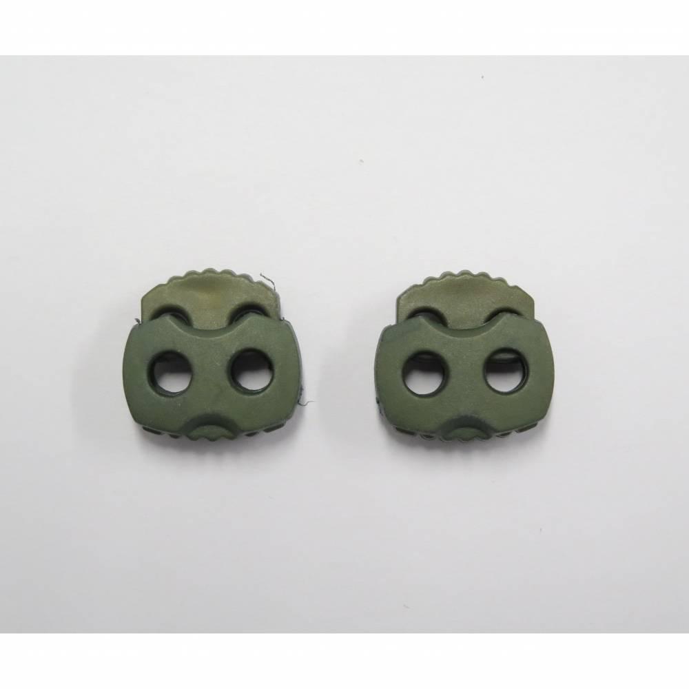 Kordelstopper - oliv - 5 mm Bild 1