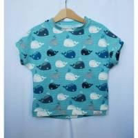 aCaso kurzarm T-Shirt aus weichem BIO Jersey mit lustigem Walmotiv von Stoffonkel Bild 1