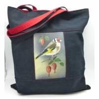 Einkaufstasche Stieglitz die Vierte, reserviert für die Vogelmalerin