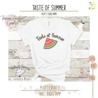 Freebie Taste of Summer Digi & Plott Bild 1