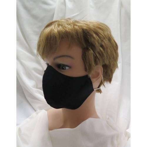 Behelfsmaske / Communitymaske / Mund-und Nasenmaske / schwarz