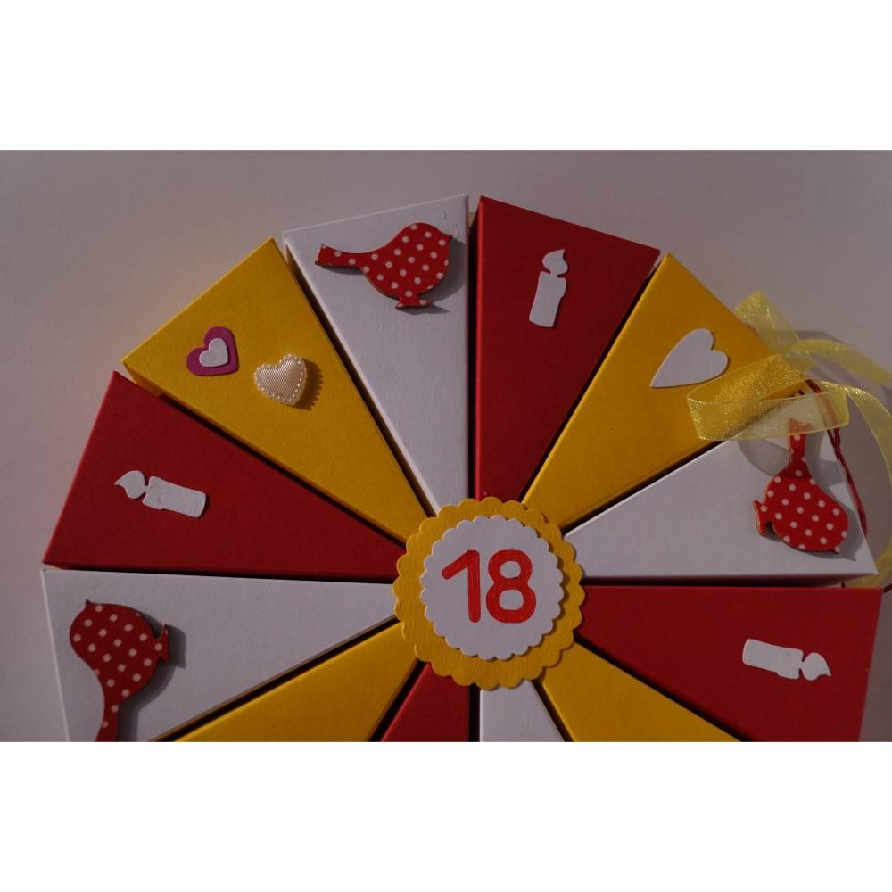 40 Geldgeschenk,Geschenk zum 18.Geburtstag,Geldgeschenkverpackung,Geschenkschachtel zum Geburtstag, Geburtstagsgeschenk Bild 1