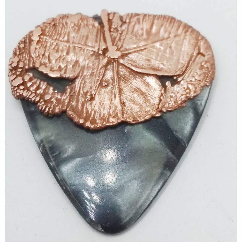 Plectrum mit Kupfer veredelt für SammlerInnen  Bild 1