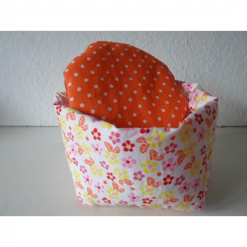 Eierkörbchen/ Eierwärmer Baumwolle mit Deckel nach Wahl von friess-design  Bild 1