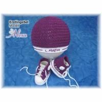 Baby-Sets aus Mikrofaser oder Baumwolle auch personalisiert Bild 1