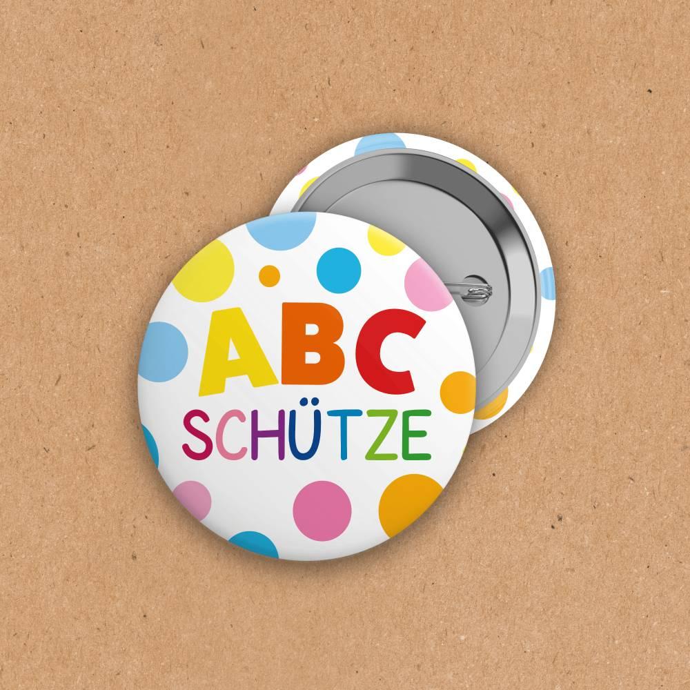 Button - ABC-Schütze - 25mm Bild 1