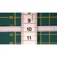 10m Gummiband, 6mm breit, weiß, flach, weich, kochfest, Gummiband für Behelfsmaske, DIY Maske, Mund-Nasen-Maske, elastisches Maskenband, Band ( 0,75€/m) Bild 1