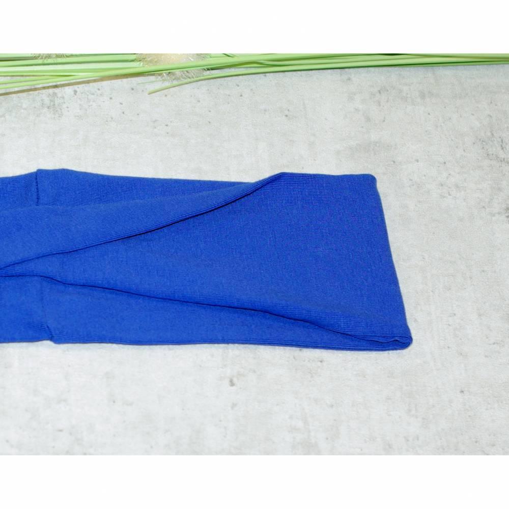 Stirnband kobaltblau uni, Haarband, Yogaband, Haarband, gedrehtes Stirnband Twist Stirnbänder Bild 1