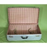 Vintage Koffer aus Metall Retro Koffer Bild 1