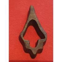 Holzkette / Ketten Anhänger Antik Eiche mit Kautschukband Bild 1