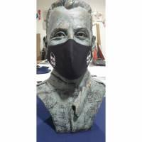 Mund-Nasen-Masken mit eingenähter Filter und Bügel Bild 1