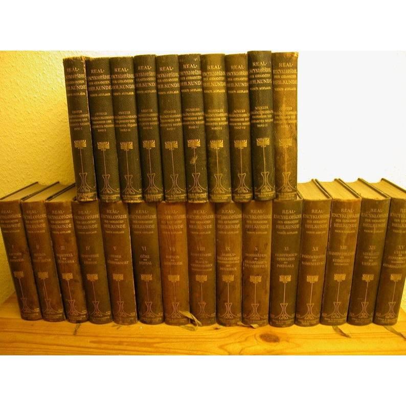 25 Bände Eulenburgs Real-Encyklopädie der gesamten Heilkunde,Medizinisches-Chirurgisches  Bild 1