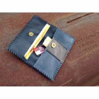 Tabakbeutel Dreherbeutel Tabaktasche aus Leder - Vintage Boho Ethno Mittelalter - Lederbeutel Beutel für Tabak Bild 1
