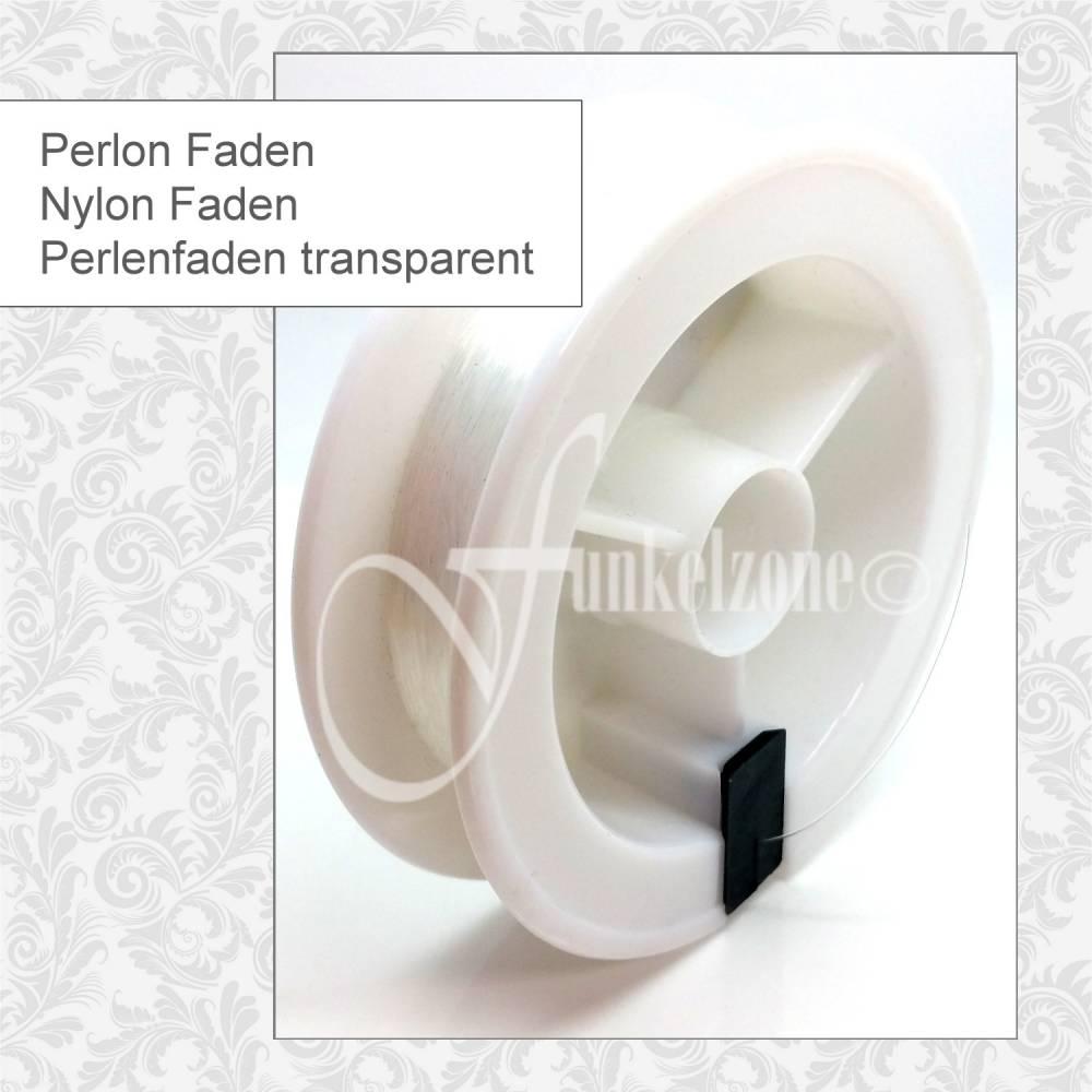 Perlon   Nylon   Perlenfaden transparent   Fädelarbeiten   AUSWAHL   Bild 1