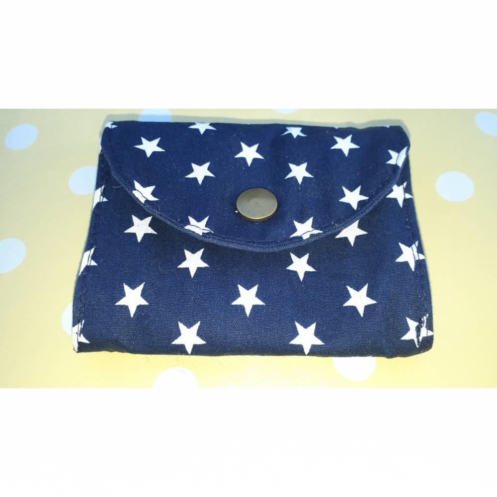 Geldbörse Conga, wirklich praktisch! blau kleine Sterne Bild 1