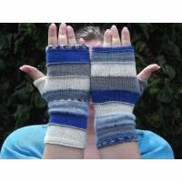 Schicke Armstulpen, farblich aufeinander abgestimmt, für die Übergangszeit, als passendes Accessoires auch im Sommer Bild 1