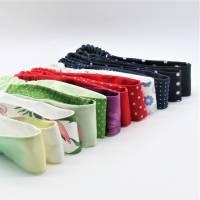 ❤ trendige Haarbänder in schönen Farben und zum wenden  Bild 1