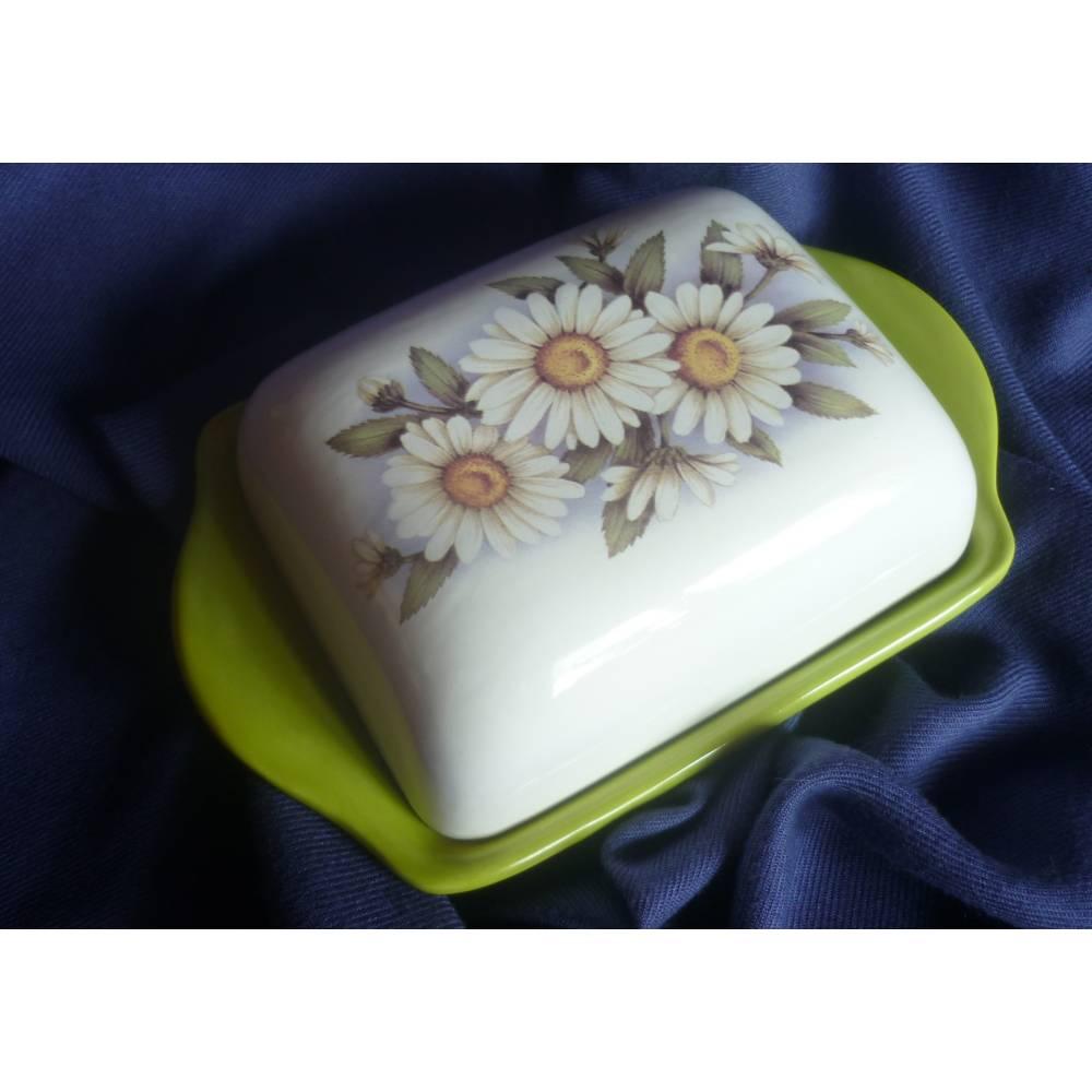 Butterdose Gänseblümchen Frühling,Frühstück Bild 1