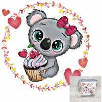 Kindertasche, Kindergartentasche 17 Koala Cupcake Bild 1