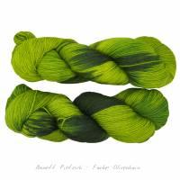 Sockenwolle - handgefärbte Wolle - jeder Strang ein Unikat Bild 1