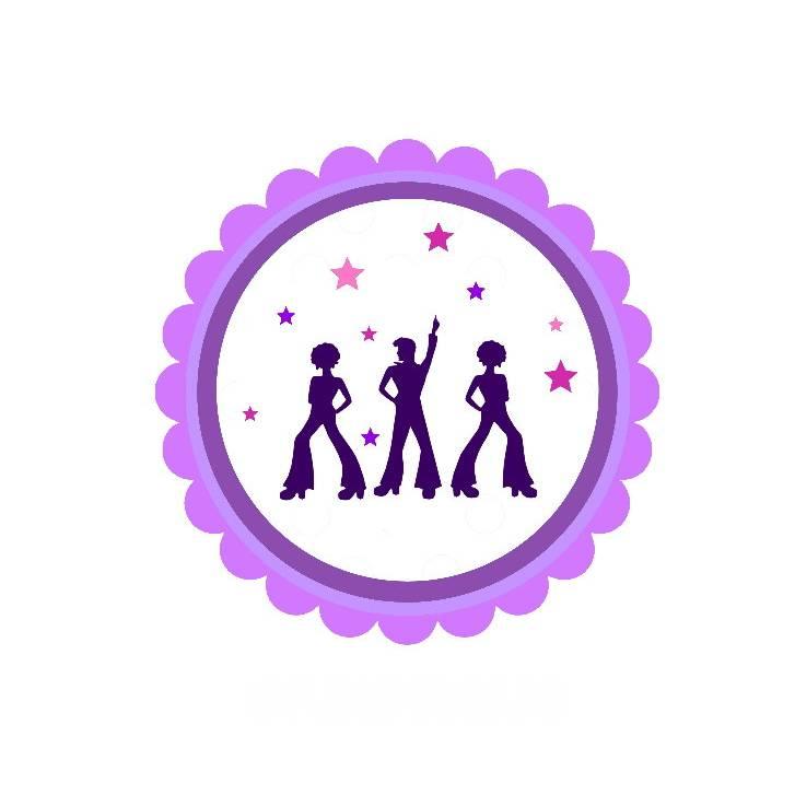20 Aufkleber / Sticker MOTIV Hippie-Tänzer Bild 1