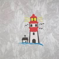 "Stickdatei  "" Leuchtturm 10 x 13 "" Bild 1"