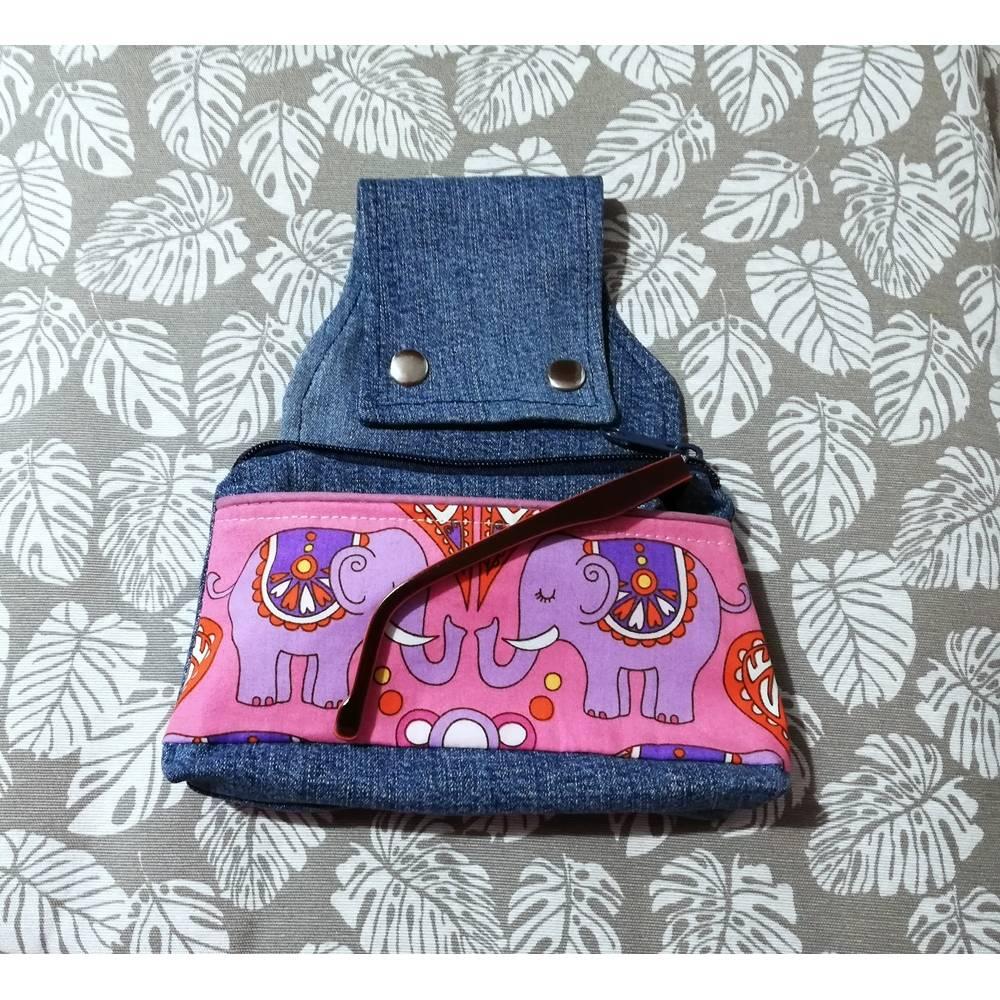 Gürteltasche, Hüfttasche India, Handmade Bild 1