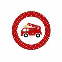 20 Aufkleber / Sticker MOTIV Feuerwehr Bild 1