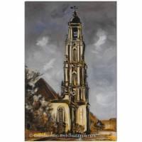 Original Acryl auf Leinwand: Garnisonkirche Potsdam II/ 40x60 cm Bild 1