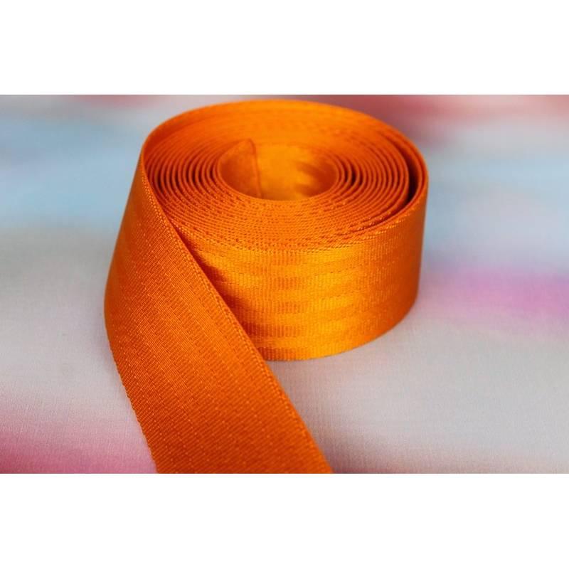 1m Sicherheitsgurtband, 38mm breit, orange Bild 1