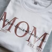 Mama Shirt Personalisierte Mama Shirt  Bild 4