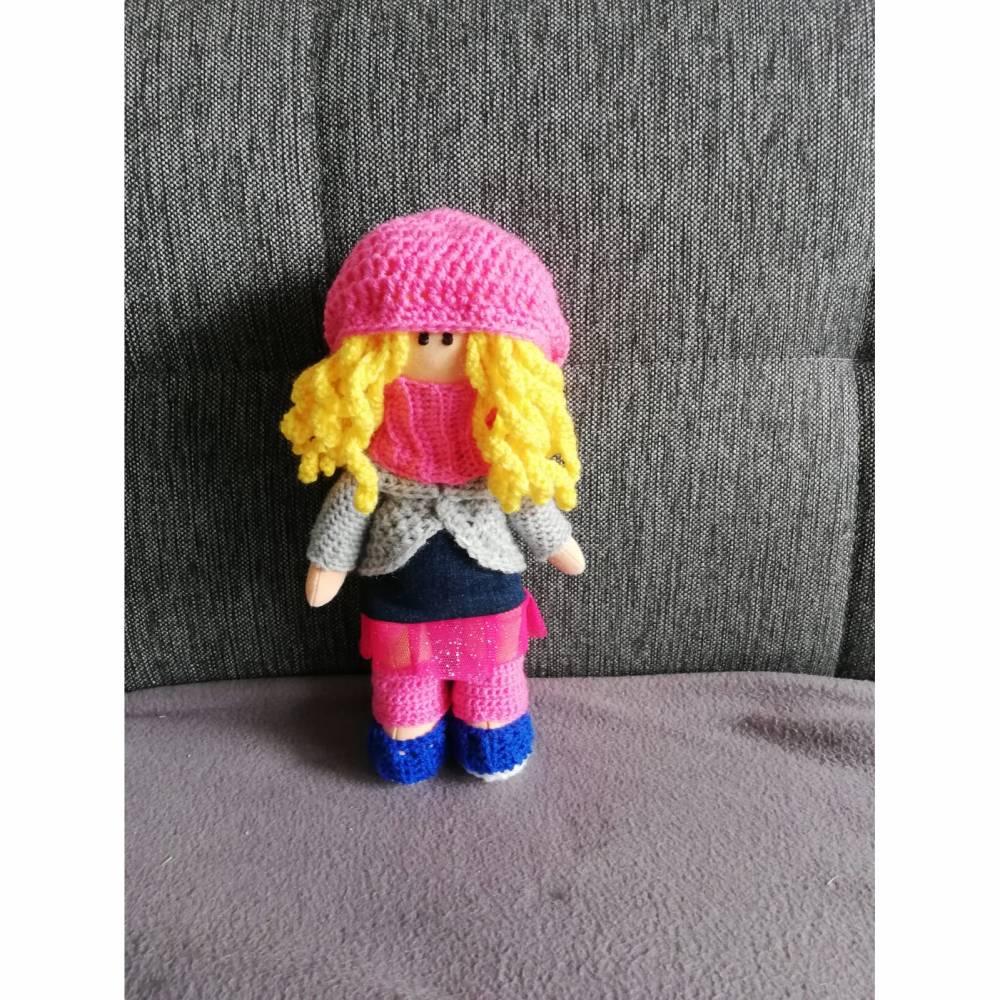 ♡ Puppe Sarah ♡ amigoll9 ♡ Deko ♡ Handarbeit ♡ Bild 1