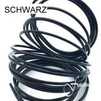 Draht | Aluminiumdraht | 3m | Ø 0,3mm | DIY Schmuckherstellung | Floristik | SCHWARZ Bild 1