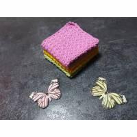 3er Set Spüllappen, Waschlappen Farbwahl Bild 1