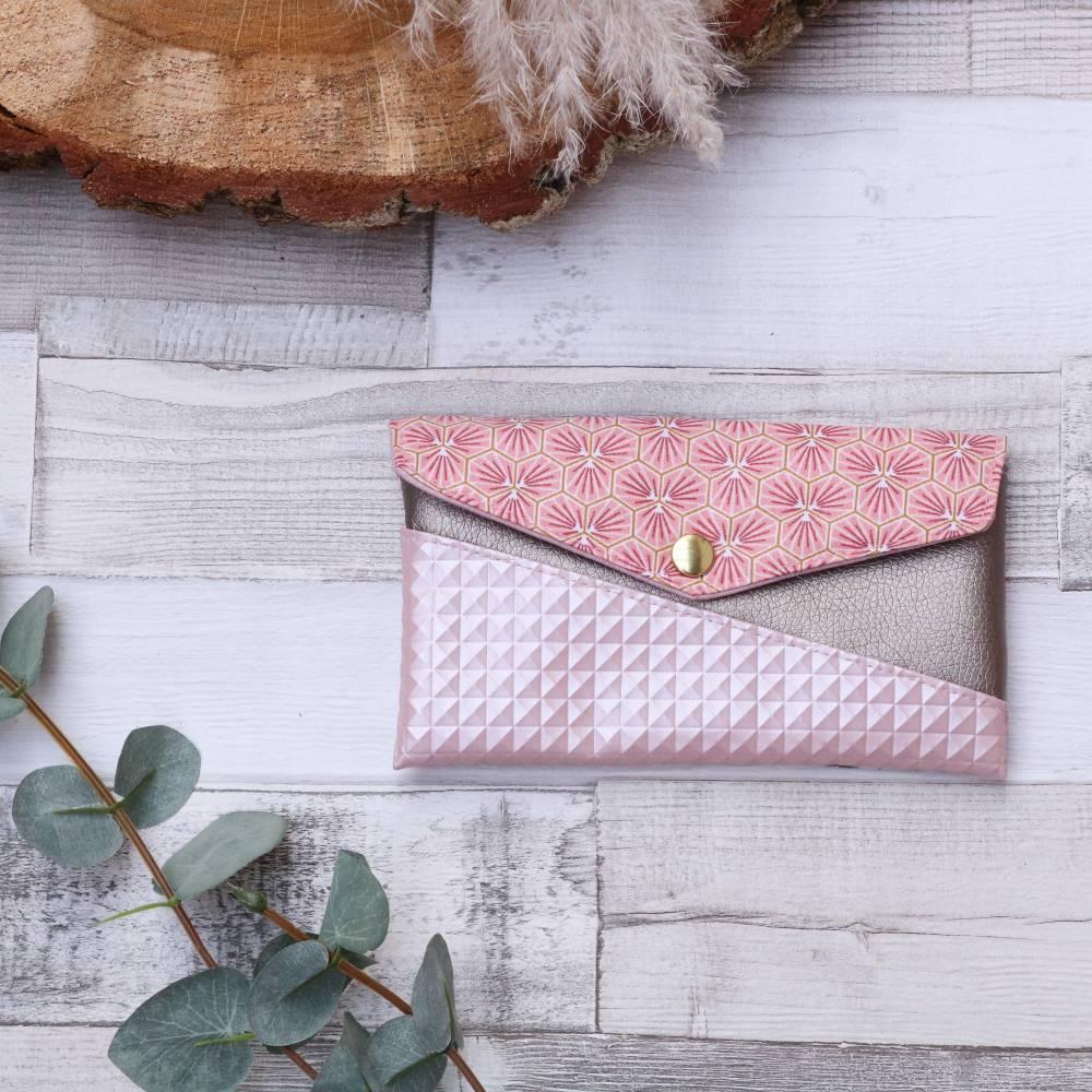 Smartphonehülle KUORI, Kleinkramtäschchen in rosa  Bild 1