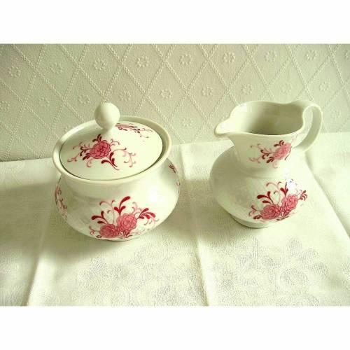 Vintage Milch und Zucker Set Annabellvon Seltmann Weiden aus den 70er Jahren