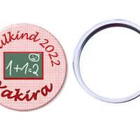 Handspiegel,Schultafel, personalisiert, Geschenk Einschulung, Füllung Schultüte Bild 1